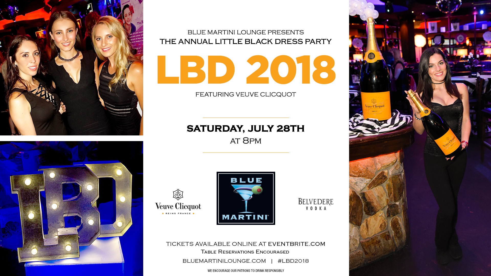 It's Time for the Best Party of the Summer – Little Black Dress 2018
